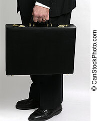 Businessman with briefcase 1