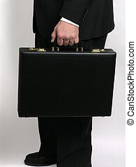 Businessman with briefcase 2