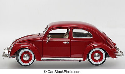 1955 German Beetle - Metal scale model of the 1,000,000 th...