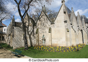 Small church in Paris - Small church in a sidestreet in...