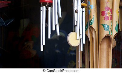 Wind Chimes - different types of handcrafted...