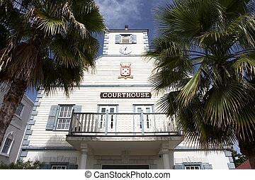 courthouse - the courthouse on front street Philipsburg St...