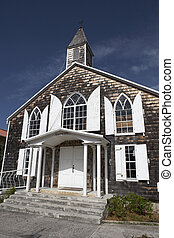 methodist church on front street Philipsburg St Maarten...
