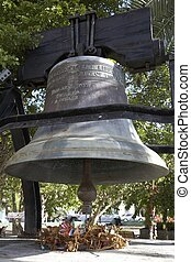 liberty bell - The liberty bell in emancipation gardens...