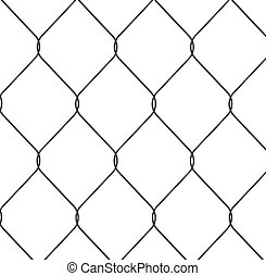 chain link fence - close up of chain link fence nice detail...