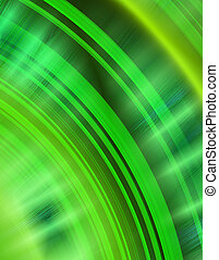 green echo - green arcs abstract background showing audio...