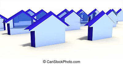 homes - group of homes