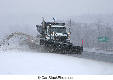 snowplow 1 - taken along highway 69