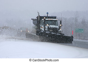 snowplow 6 - taken on highway69 south