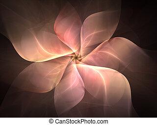 Petals - fractal rendering resembling flower petals