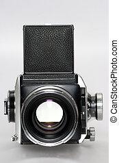 médio, formato, câmera