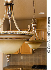 light fixtures - brand new fancy light fixtures in newly...
