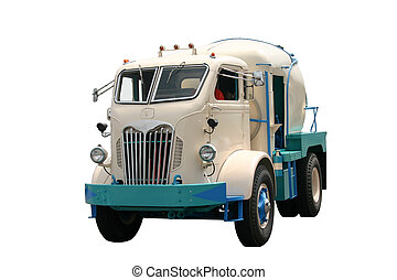 Old Cement Truck