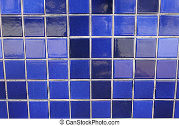Blue tiles - backgroundtexture - blue tiles