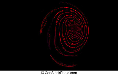 abstrackt - abstract; background; black; blue; circle;...