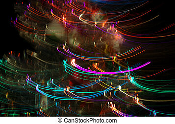 Abstract Lines light