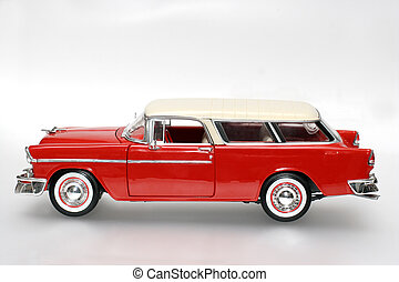 1955 classic US car - Picture of a 1955 classic US car...