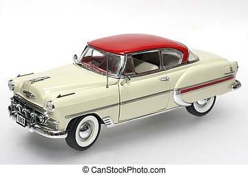 1953 classic US car - Picture of a 1953 classic US toy car...