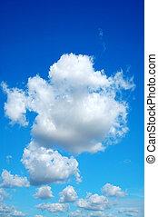 天空, 相象, 多雲, 棉花