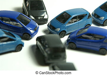 crossroads - many micro cars