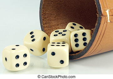 Shaker with dice2