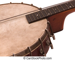 Antique Banjolin - An antique banjolin: Part banjo, part...
