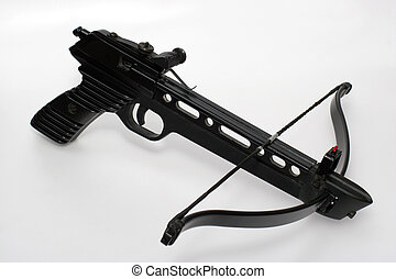 Crossbow handgun - Picture of a crossbow pistol. A very...