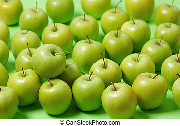 Green apples - Group of green apples