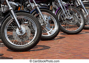 Motorcycle Wheels - Front wheels of motorcycles