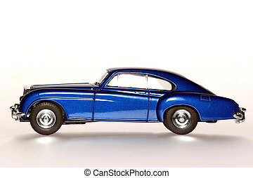 1955 classic toycar - Picture of a classic 1955 British toy...