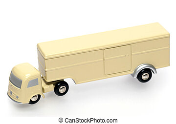old style toy truck - One of the many thousand toys my...