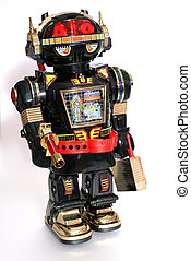 Toy Robot - Picture of a toy robot. One of the many thousand...