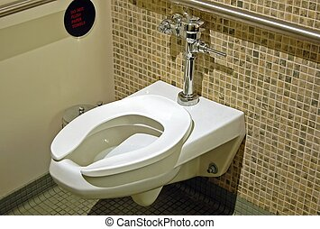 Restroom - Clean restroom facilities at a local...