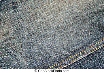 denim texture #7 - close-up of denim