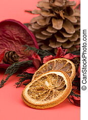 Mandarin,Cloves and Cinnamon pot pourri - Mandarin,Cloves...