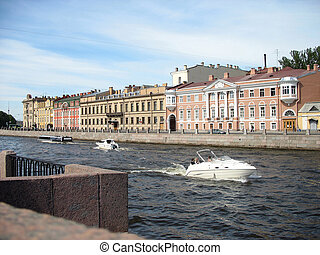 Boat trip - Summer boat trips in the Saint-Petersburg,...