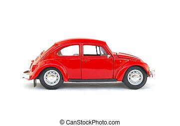 modell, altes, Auto