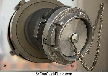 fire truck firehose valve