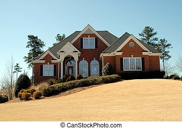 New Home - Photographed new home at development in Georgia.