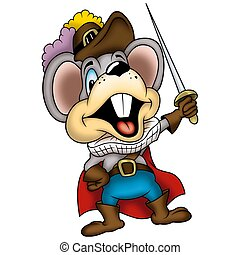Mouse swordsman - Mouse 05 swordsman - High detailed and...