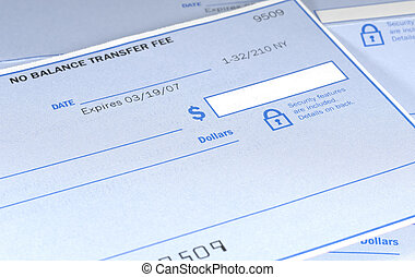 Check - Photo of a Bank Check - Finance Related