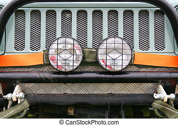 Offroader - Grille, Lamps, Strop and Shackles on an Offroad...