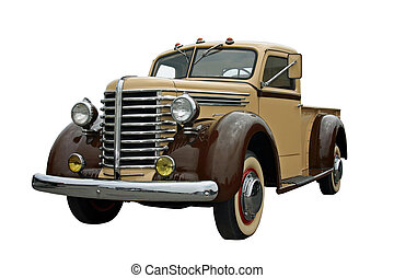 Old Pickup - This is a picture of an old 1940s pick up...