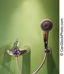 Shower head and tap