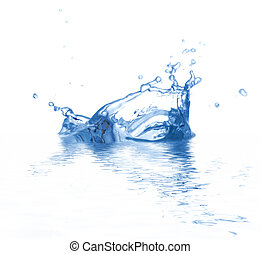 Splash - Water is splashing Use it for concepts