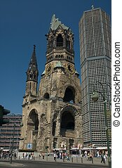 Kaiser Wilhelm Memorial Church in Berlin, germany.