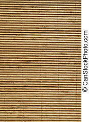 Bamboo Background - Bamboo Slats Bound Together As A Rug,...