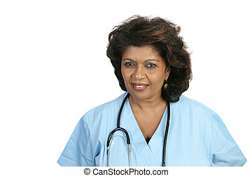 Medical Professional Concerned - A concerned nurse or doctor...