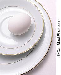 egg on fine china 2