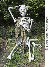 bag of bones - It is Halloween. Bag of bones founded in Hong...